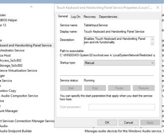 Windows 10 On-Screen keyboard appears on startup or login