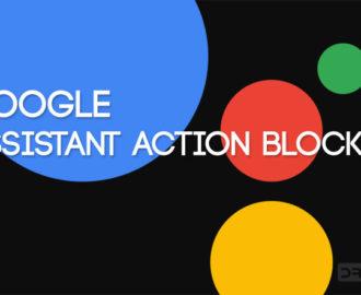 google assistant action blocks