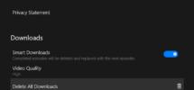 How to delete downloaded Netflix Offline Content from Windows 10