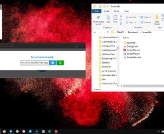 Screenshot Windows PE