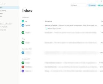 Twobird Gmail client