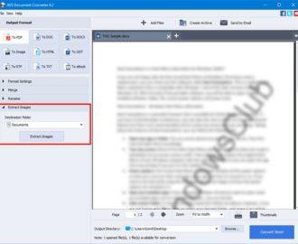 AVS Document Converter lets you convert files between DOC, PDF, DOCX, RTF, TXT, HTML, etc.