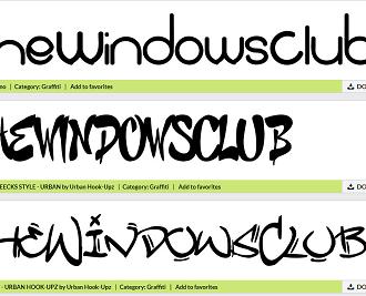 Graffiti Creator & Fonts
