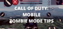 call of duty zombie mode tips