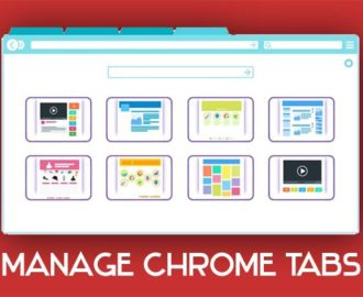 manage chrome tabs extension