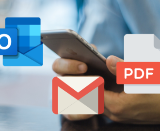 How to Print Emails to PDF in Outlook and Gmail for iOS