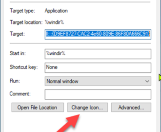 How to create a BitLocker Drive Encryption shortcut in Windows 10