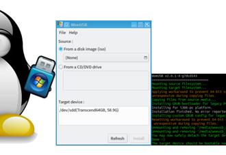 How to create a Windows 10 bootable USB on Linux