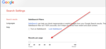 How to get more than 10 results on a single Google Search Page