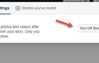 How to turn on and see Facebook Story Archive