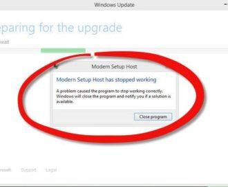 Modern Setup Host in Windows 10 [Fix High CPU Usage]