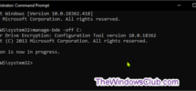 Turn On BitLocker for Windows 10 Operating System Drive without TPM
