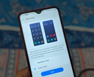 What Is Easy Mode on Samsung Galaxy Phones