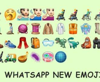 whatsapp emoji feature