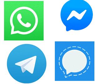 WhatsApp vs Telegram vs Signal vs Messenger