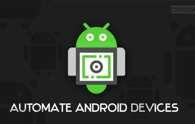 automate android devices