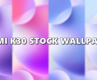 redmi k30 wallpaper cover