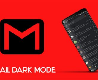 dark gmail for android