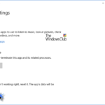 How to Reset the Settings app in Windows 10