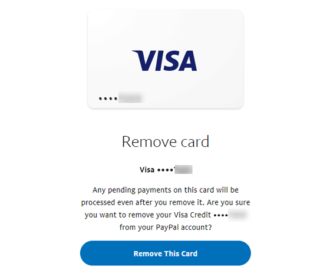 How to remove Bank Account and Credit Card from PayPal account
