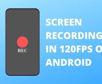 Record Your Screen in 120FPS Using Screen Recorder