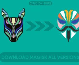download magisk zip and magisk manager apk
