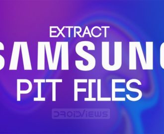 Extract Samsung PIT File