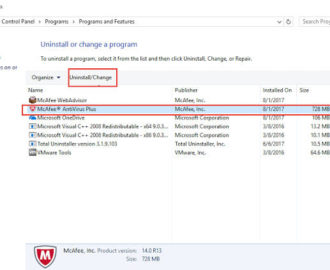 How To Uninstall McAfee from Windows 7/8/10? [SOLVED]