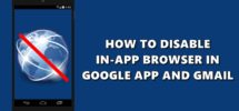 disable in-app browser