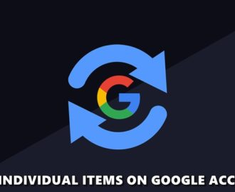 sync google account