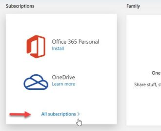 How to cancel an Office 365 Subscription or stop Auto renewal