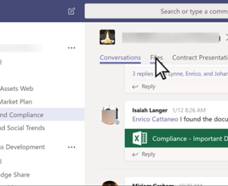 How to create a Microsoft Teams tab using an uploaded file
