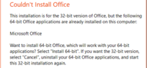 How to install different versions of Office on the same Windows 10 PC