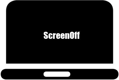 How to turn off screen of a laptop but keep PC running