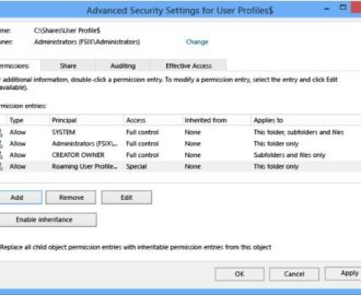 Roaming user profiles versioning incompatibility issues in Windows 10