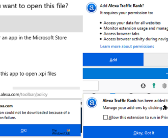 The add-on could not be downloaded because of a connection failure – Firefox error