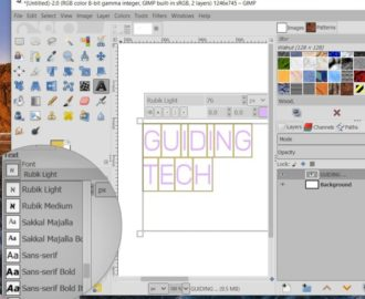 7 Best Ways to Fix GIMP Not Showing New Fonts in Windows 10