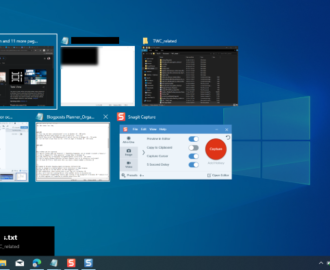 How to create Task View shortcut in Windows 10