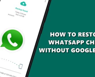 How to restore old WhatsApp chats without Google Drive