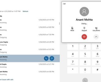 How to set up and use calls in Your Phone app