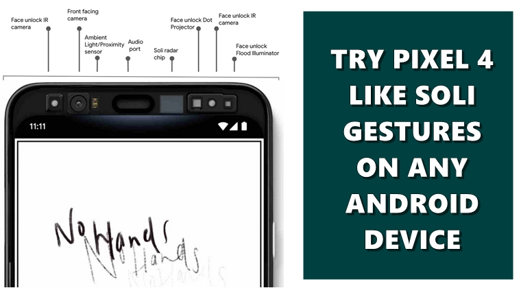 Try Pixel 4 like Motion Gestures on your device via Tasker