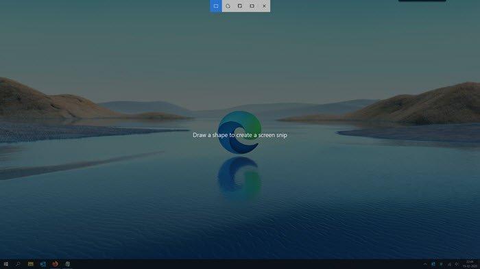 Win+Shift+S keyboard shortcut is not working in Windows 10
