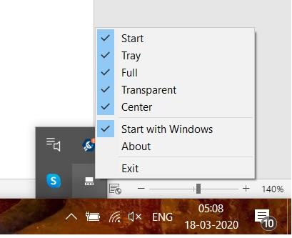 TaskbarDock lets you customize Windows 10 Taskbar