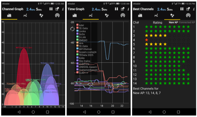 What are the best Android WiFi analyzer apps?