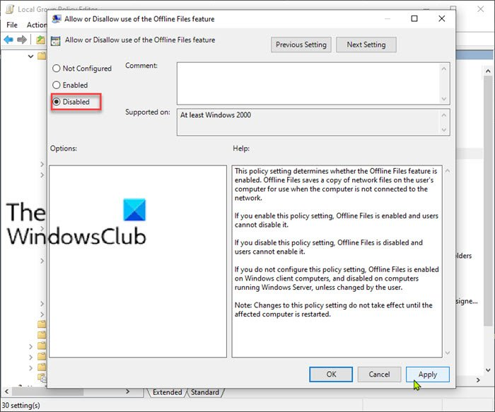 Apps freezing when attempting to access a file on a network drive in Windows 10