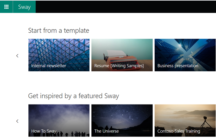 How to embed content in Microsoft Sway