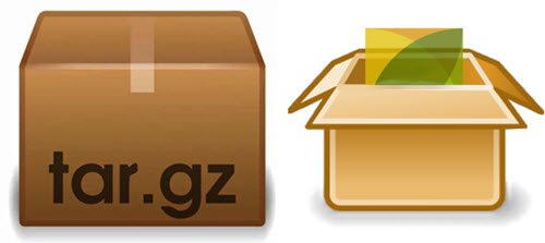 How to extract .TAR.GZ, .TGZ or .GZ. Files in Windows 10