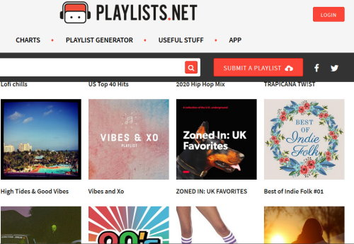 How to find and share Music Playlists on the web with family and friends