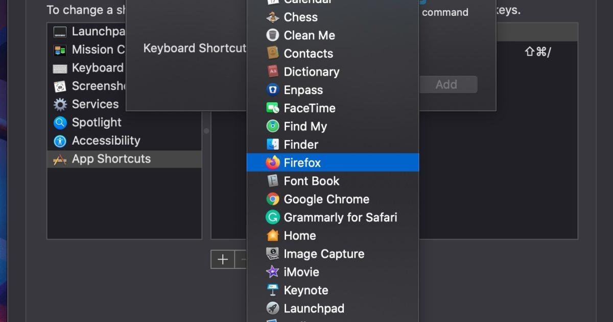 How to Create Custom Keyboard Shortcuts on Mac