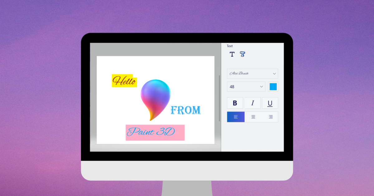 A Complete Guide to Adding and Editing Text in Paint 3D